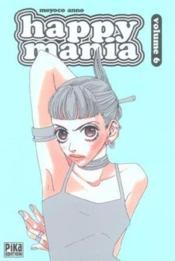 Happy Mania T.6 - Couverture - Format classique