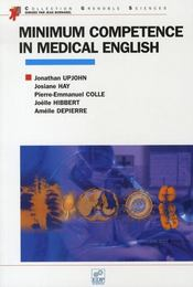 Minimum competence in medical english - Intérieur - Format classique