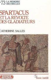 Spartacus et revolte gladiateurs - Couverture - Format classique