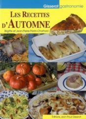 Les recettes d'automne - Couverture - Format classique