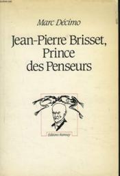 Jean pierre brisset prince des penseurs - Couverture - Format classique