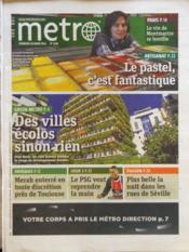 Metro Paris N°2186 du 30/03/2012 - Couverture - Format classique