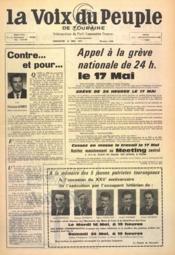 Voix Du Peuple De Touraine (La) N°1346 du 14/05/1967 - Couverture - Format classique