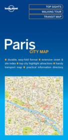 Vente  City map ; Paris (édition 2017)  - Xxx - Collectif - Collectif Lonely Planet