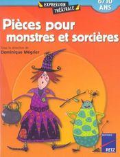 Pieces Pour Monstres Et Sorcieres 6/10 Ans - Intérieur - Format classique