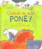 Album De Mon Poney (L') - Intérieur - Format classique