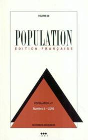 Population 2003 N 6 Nov-Dec - Couverture - Format classique