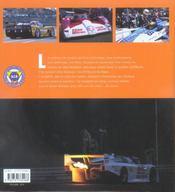 Passion... 24 heures du Mans - 4ème de couverture - Format classique