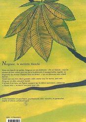 Neigeuse La Merlette Blanche - 4ème de couverture - Format classique