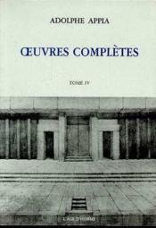 Ouvres Completes Tome 4 - Couverture - Format classique