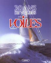 30 Ans De Voiliers Avec Voiles Et Voiliers - Intérieur - Format classique