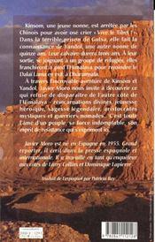 Les Montagnes De Bouddha L'Odyssee De Deux Jeunes Nonnes Tibetaines Eprises De Liberte - 4ème de couverture - Format classique