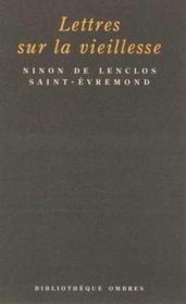 Lettres Sur La Vieillesse - Couverture - Format classique