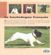 Bouledogue Francais (Le) - 4ème de couverture - Format classique