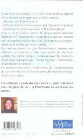 Les Trois Piliers Du Bien-Etre - 4ème de couverture - Format classique