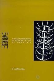 Art Et Contemporaneite - Couverture - Format classique