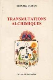 Transmutations Alchimiques - Couverture - Format classique