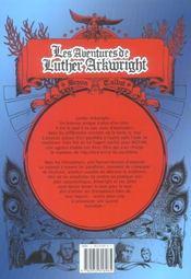 Les aventures de luther arkwright - 4ème de couverture - Format classique