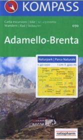 Adamello, Brenta - Couverture - Format classique