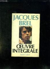 Oeuvre Integrale. - Couverture - Format classique