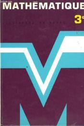 MATHEMATIQUE 3e - COLLECTION 65/43 - Couverture - Format classique