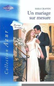 Un mariage sur mesure - Couverture - Format classique