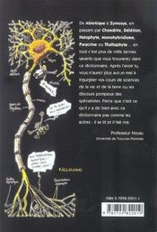 Le Dico Illustre Sciences De La Vie Et De La Terre - 4ème de couverture - Format classique