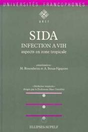 Sida Infection A Vih Aspects En Zone Tropicale - Couverture - Format classique