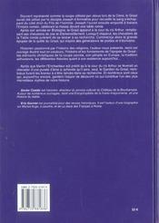 Graal (Le) - 4ème de couverture - Format classique