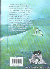 Umizaru, L'Ange Des Mers T.3 - 4ème de couverture - Format classique