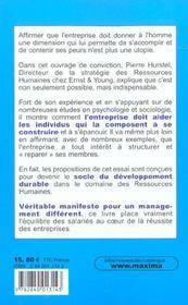 Entrepr Reparatr Nouv Epanouis - 4ème de couverture - Format classique