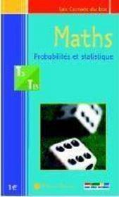 Maths ; statistiques et probabilités ; terminale S-ES - Intérieur - Format classique