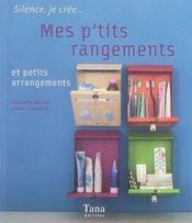 Mes p'tits rangements et petits arrangements - Intérieur - Format classique