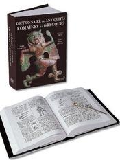 Dictionnaire des antiquites romaines et grecques - Intérieur - Format classique