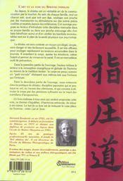 L'art et la voie du shiatsu familial - 4ème de couverture - Format classique