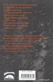 L'Illusion du belvedere - 4ème de couverture - Format classique