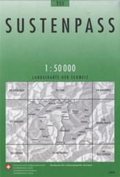 Sustenpass (édition 2009) - Couverture - Format classique