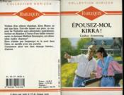 Epousez Moi Kirra ! - The Marrying Game - Couverture - Format classique