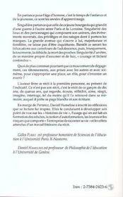 Partance ; Histoires De Vie, Formation Et Pratique Litteraire - 4ème de couverture - Format classique