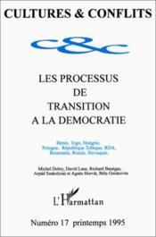 Processus De Transition A La Democratie - Couverture - Format classique