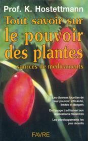 Tout savoir sur les plantes medicinales - Couverture - Format classique