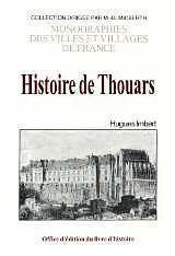 Thouars (Histoire De) - Couverture - Format classique