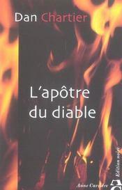 L'Apotre Du Diable - Intérieur - Format classique