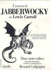 A Travers Le Jabberwocky - Couverture - Format classique