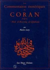 Commentaires Du Coran D'Apres Qashani (Les) - Couverture - Format classique