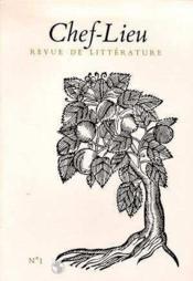 Revue Chef-Lieu N.1 - Couverture - Format classique