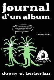 Journal D'Un Album - Couverture - Format classique