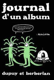 Journal D'Un Album - Intérieur - Format classique