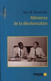 Mémoires de la décolonisation - Intérieur - Format classique