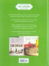 15 recettes de Geoffroy ; les salades - 4ème de couverture - Format classique
